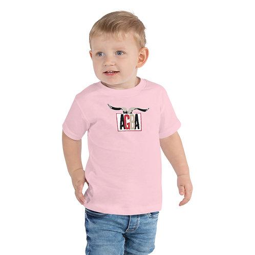 AGBA Horn Logo Toddler Short Sleeve Tee