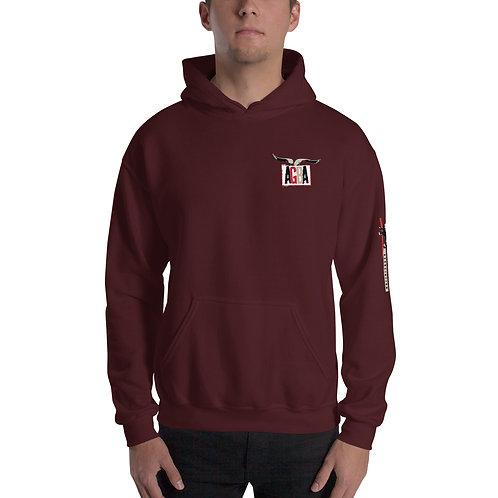 AGBA Unisex Hoodie Sweatshirt with Sleeve Logo