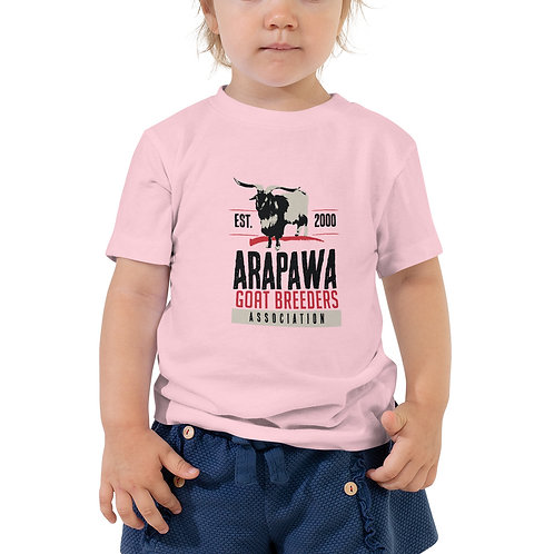 AGBA Toddler Short Sleeve Tee