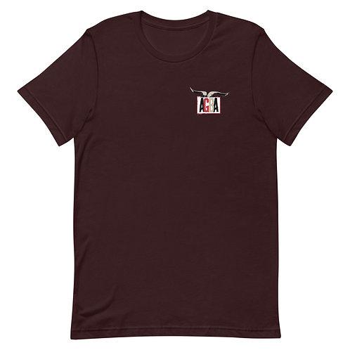 AGBA Short-Sleeve Unisex T-Shirt with Back Logo