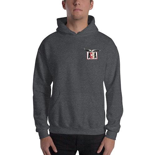 AGBA Unisex Hoodie Sweatshirt with Back Logo