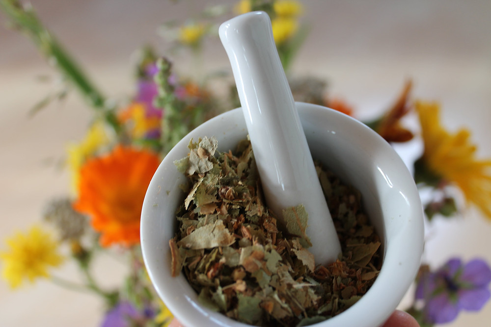Dried Herbs for Natural Remedy