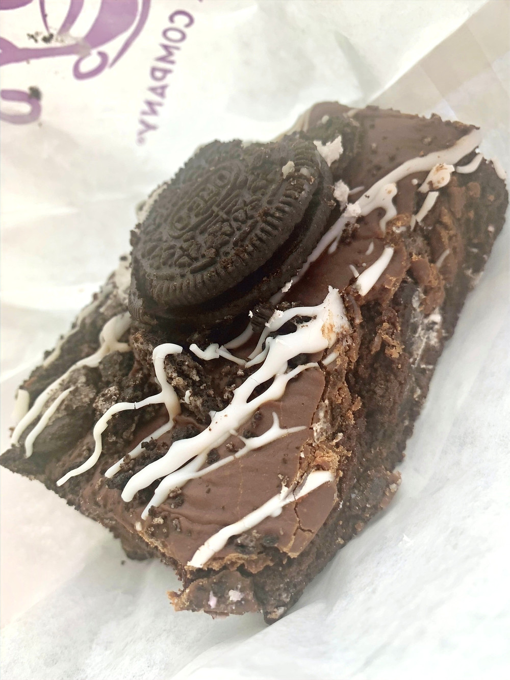 Double Chocolate Oreo Brownie