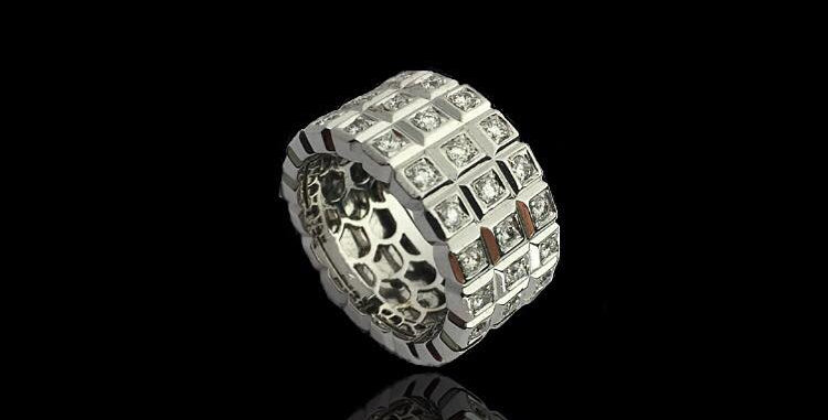 Band Diamonds Ring