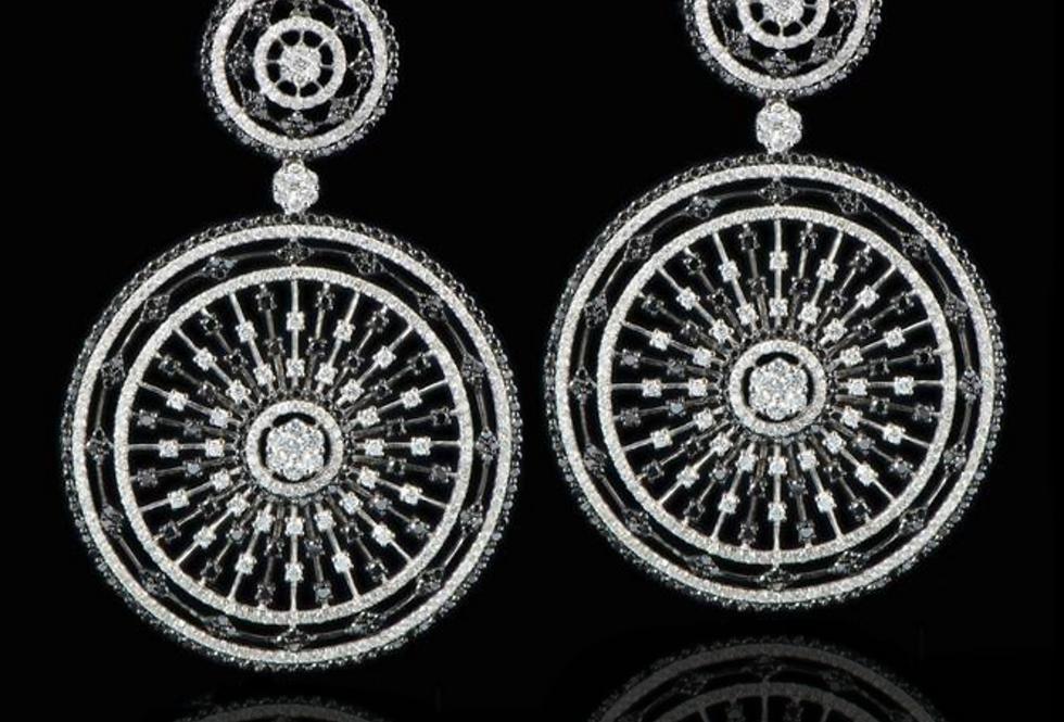 Dome Earrings - b&v
