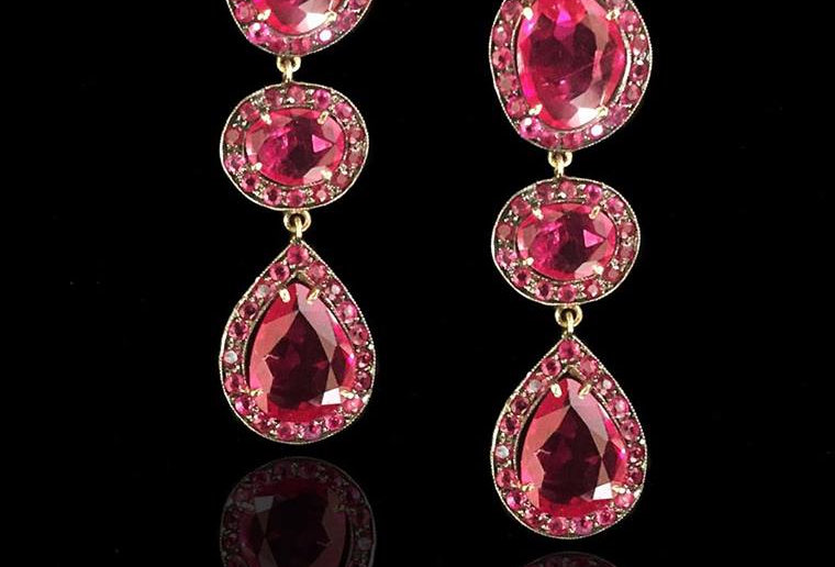 Rubies Earrings - Indian Collection