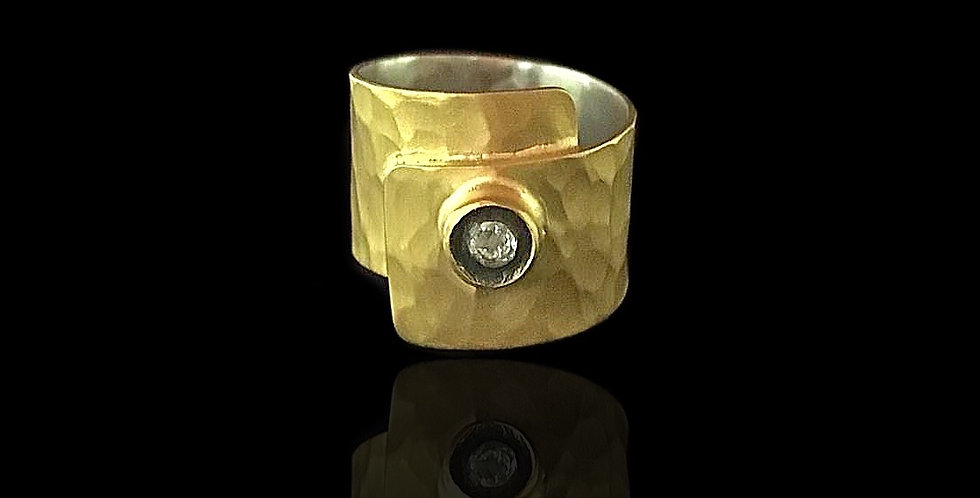 Overlapping Band Ring