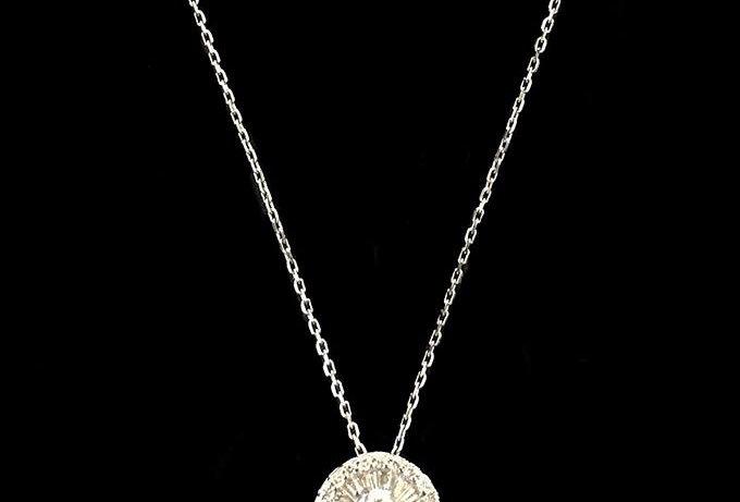 Light Point Diamonds Necklace