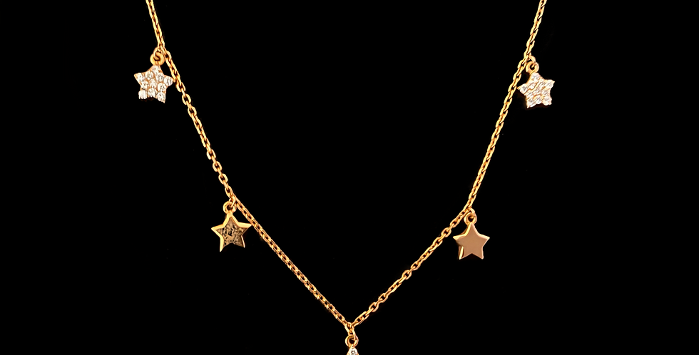 Diamond Stars Choker