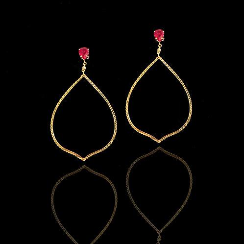 Drop Onix Earrings