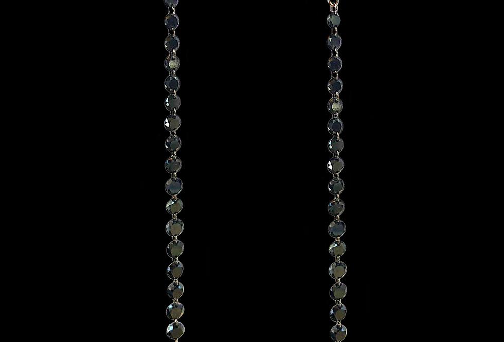 Openwork Diamond Earrings
