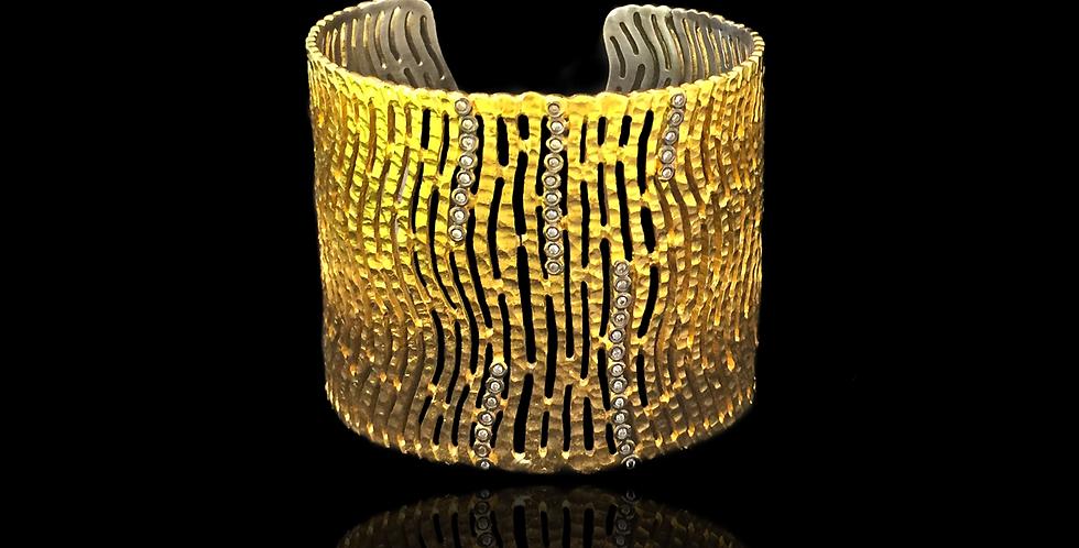 Bangle bracelet Waves