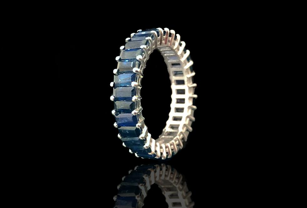 Eternity Sapphire Ring - Baguette