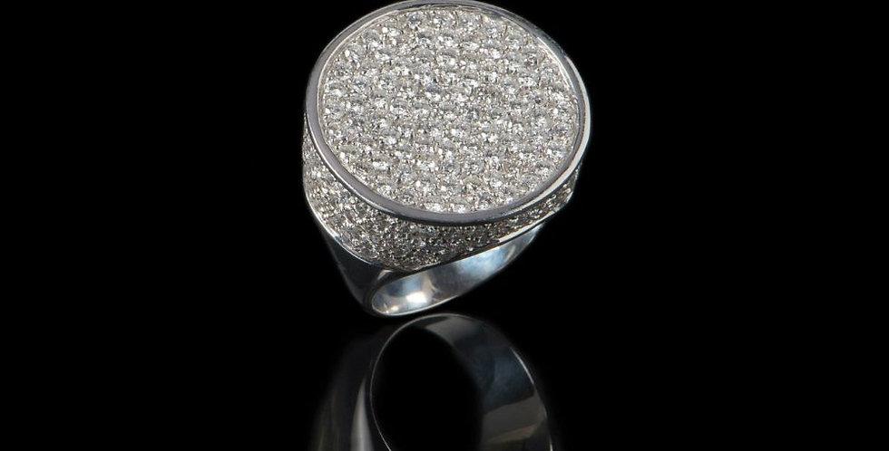 Seal Diamond Ring