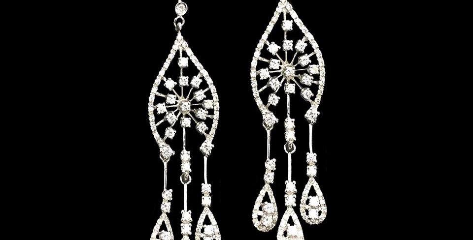 White Diamonds Pendants