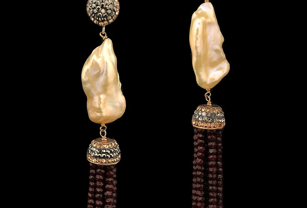Pendants w/Baroque Pearl