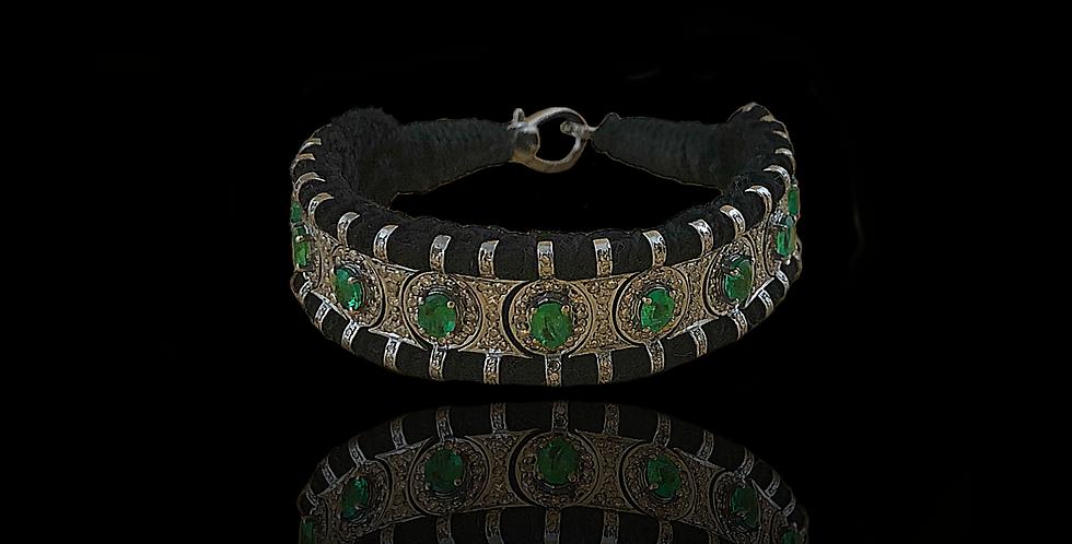 Handmade Indian Bracelet - Black
