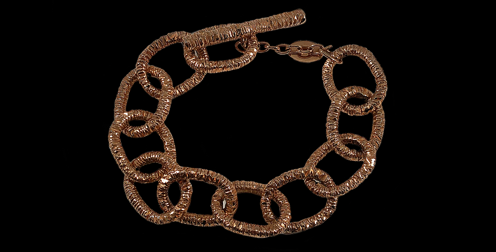 Chain Bracelet by Giordana Castellan - Rose Gold