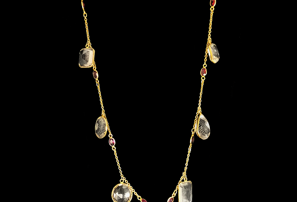 Long Necklace -Asymmetric