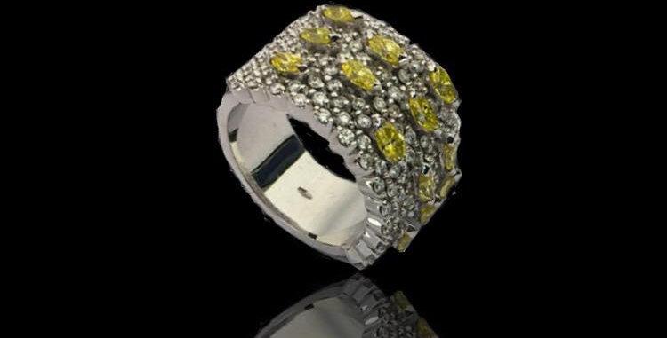 Band Diamonds Ring