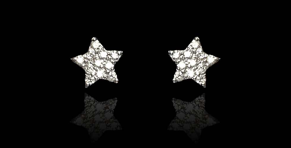 Star Point Small - White Gold