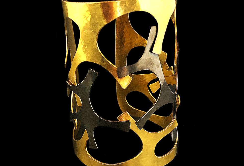 """Van Der Straeten - Giraffe """"Cuff"""" Bracelet"""