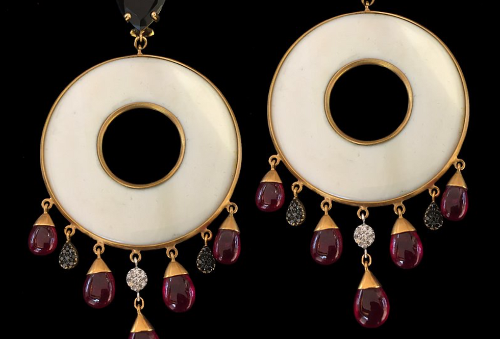 Indian Circles Earrings