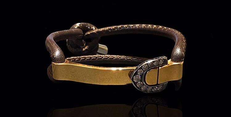 Diamond Belt Bracelet II