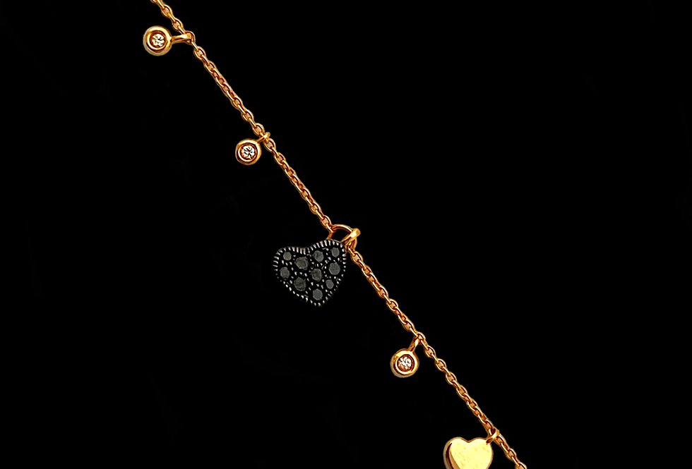 Love Bracelet - Diamond Pendant