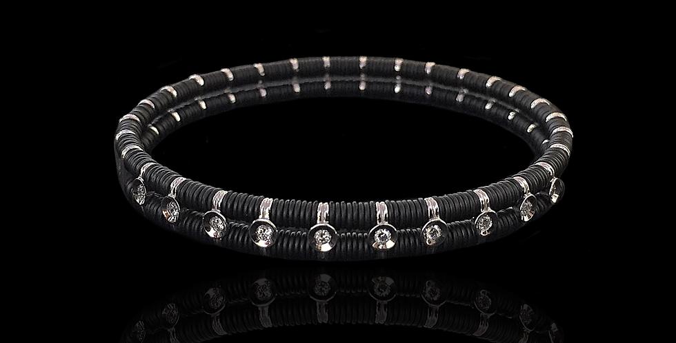 Elastic Diamonds Bracelet