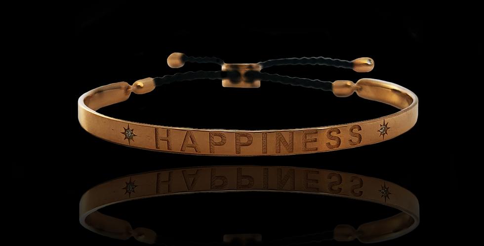 Bangle Bracelet - Happiness
