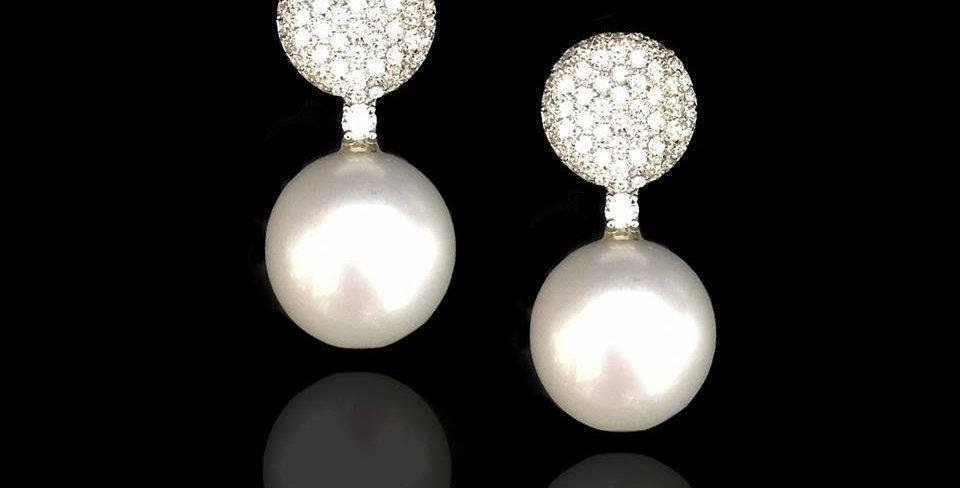 Pearls&Diamonds Earrings