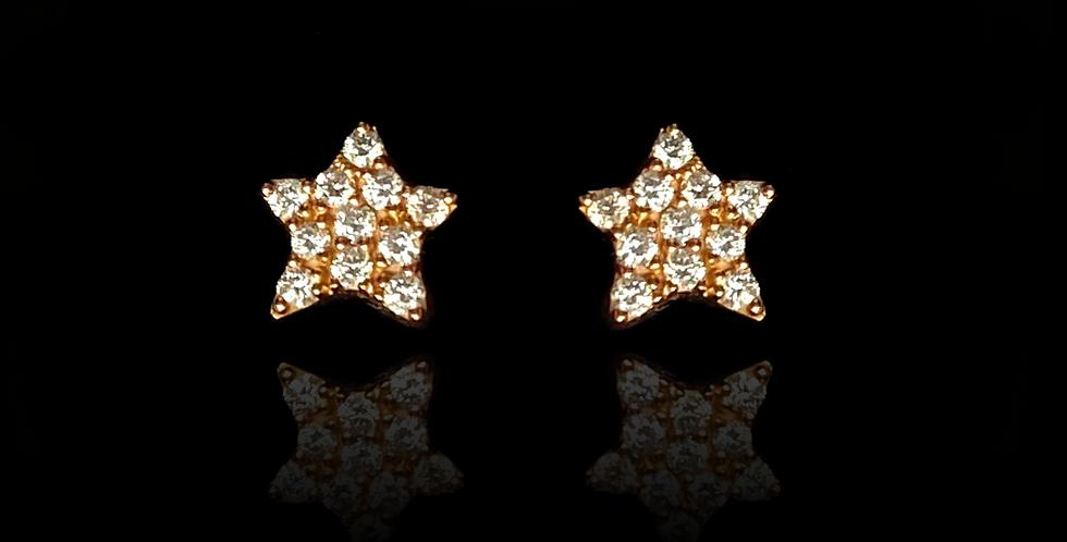 Star Point Medium - Rose Gold