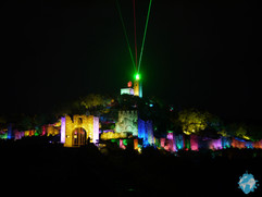 Night show at the Fortress