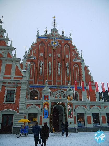 House of blackheads, riga, latvia, baltics
