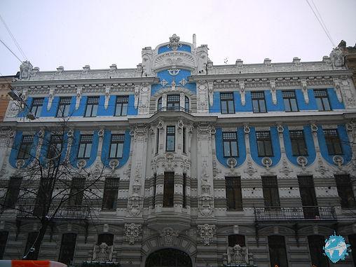 Albert street, riga, latvia, baltics