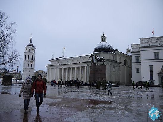 Cathedral Square, Vilnius, Lithuania, Baltics