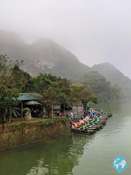 Trang An Boats, Tam Coc, Ninh Binh, Vietnam