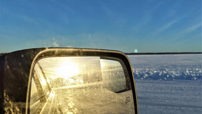 Ice Road Safety on Lake of the Woods