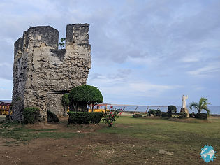 Ruins in Oslob, Philippines