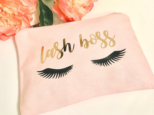 Lash Boss Cosmetic Bag