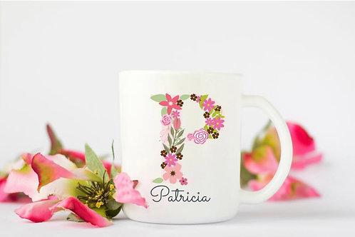 Personalized Coffee Mug, Personalized Name Coffee Cup, Initial Mug, Alphabet Mug