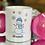 Thumbnail: Personalized Hot Chocolate Snowman Mug.