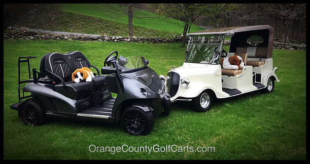 Diane Signature Series Luxury Golf Cars