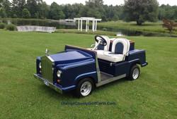 Rolls Royce Golf Cart