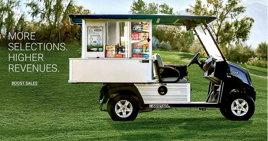 beverage food cart