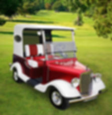 Diane's Streetrod golf car