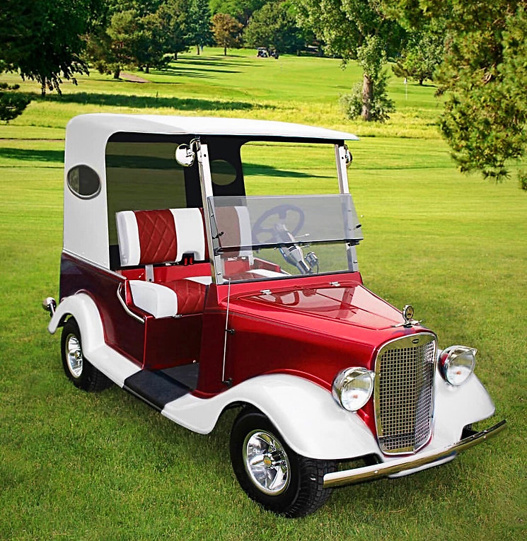 Diane's Streetrod golf car