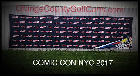 NYC Comic Con 2017 Back Drop