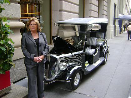 Luxury golf carts Diane